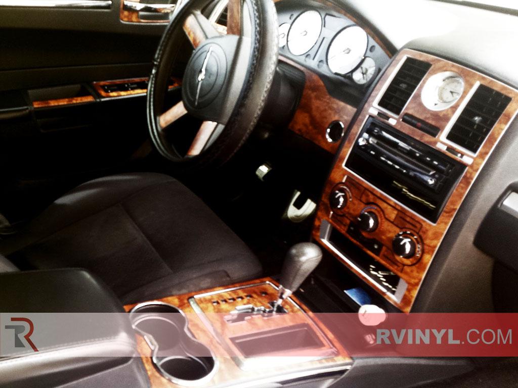Dark Burlwood 2008-2010 Chrysler 300 Rdash® Dash Kit