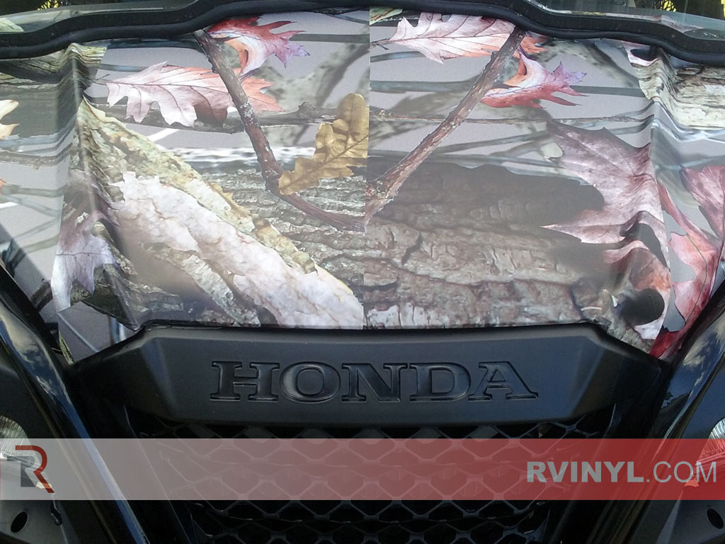 Honda Pioneer ATV RealTree Tree Camo Wrap