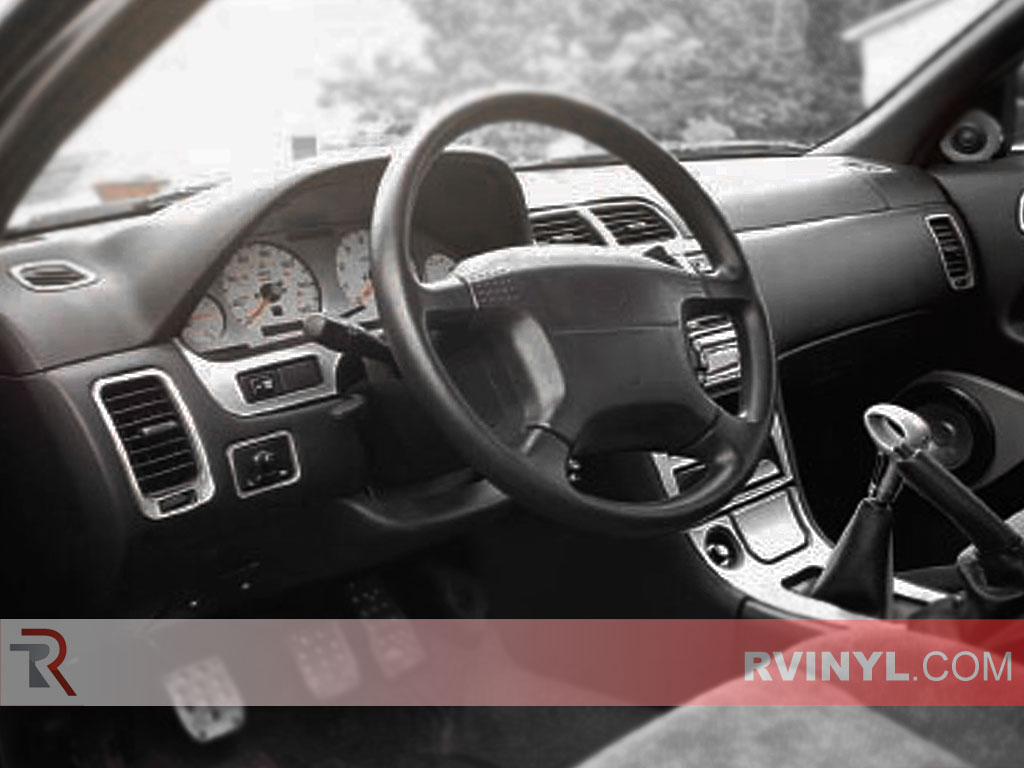 Infiniti I30 Brushed Aluminum Dash Kit