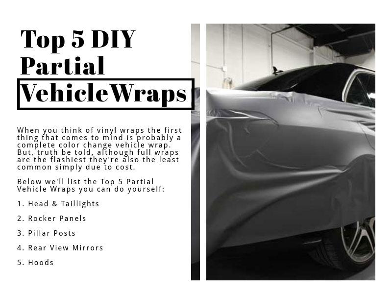 Top 5 Diy Partial Vehicle Wraps Easy