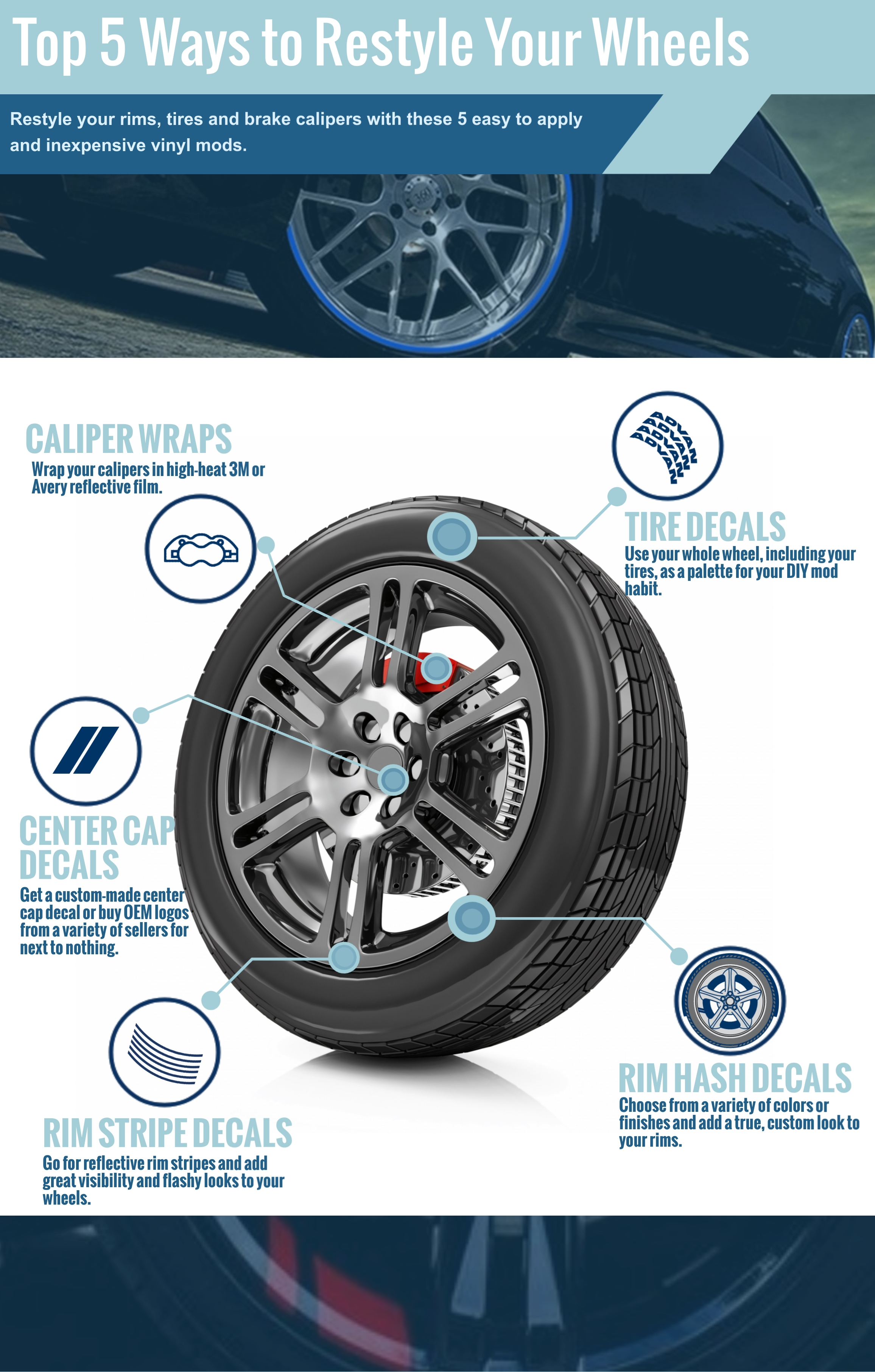 Wheel Mods Pty Ltd Ferntree Gully Vic, 5 Vinyl Mods For Your Tires Rims And Brakes, Wheel Mods Pty Ltd Ferntree Gully Vic