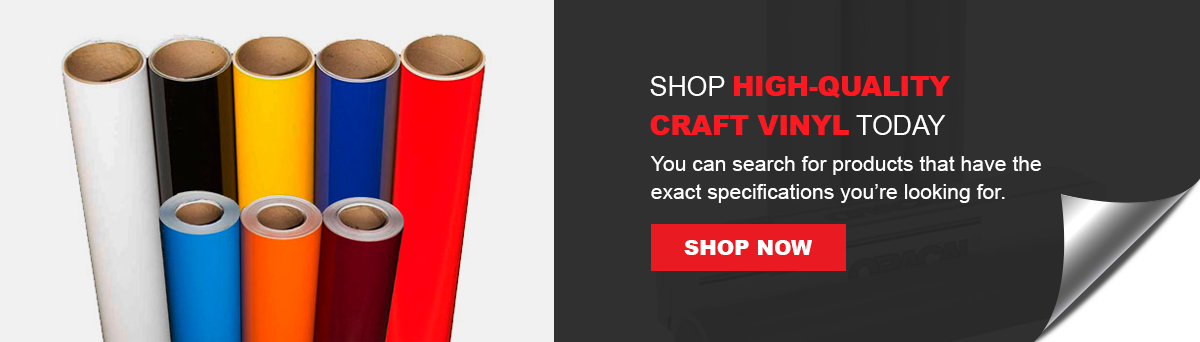 Shop High-Quality Craft Vinyl Today
