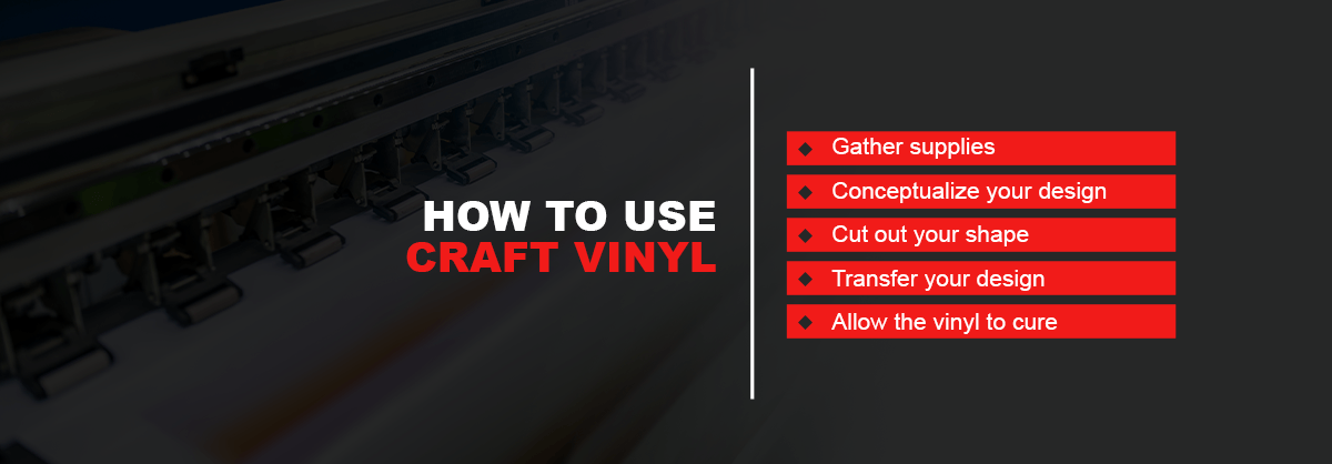 how to use craft vinyl