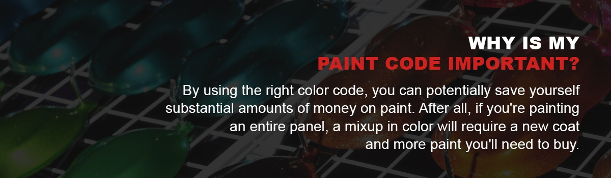 Why Is My Paint Code Important