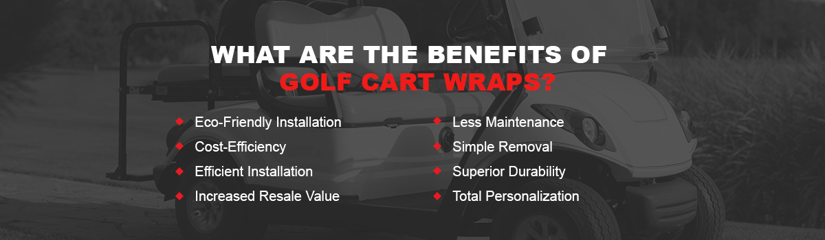 What Is a Golf Cart Vinyl Wrap