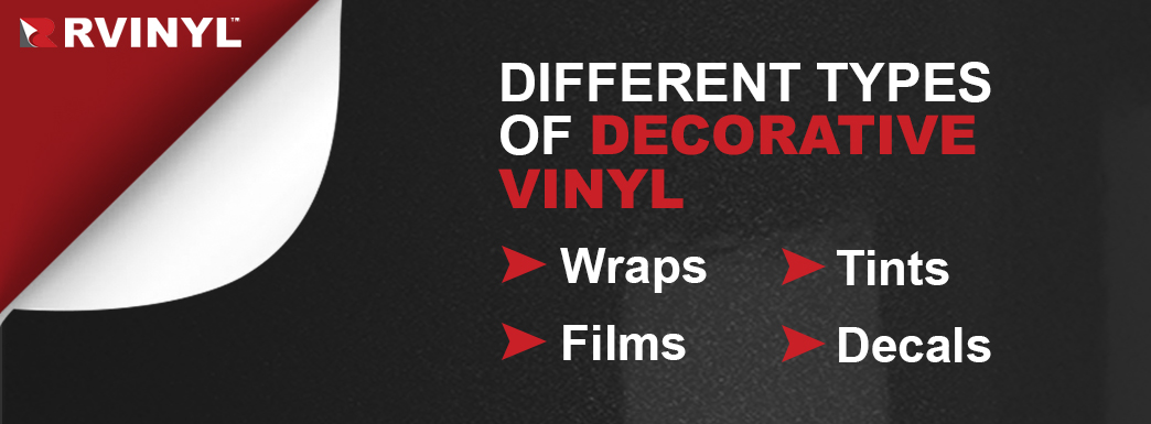 types of decorative vinyl
