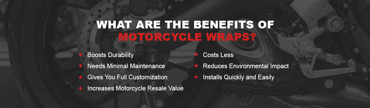 What Are the Benefits of Motorcycle Wraps