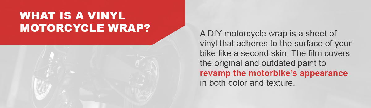 What Is a Vinyl Motorcycle Wrap