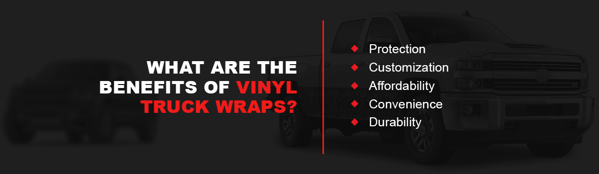 What Are the Benefits of Vinyl Truck Wraps