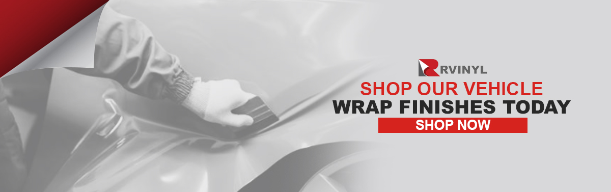 Shop Our Vehicle Wrap Finishes Today