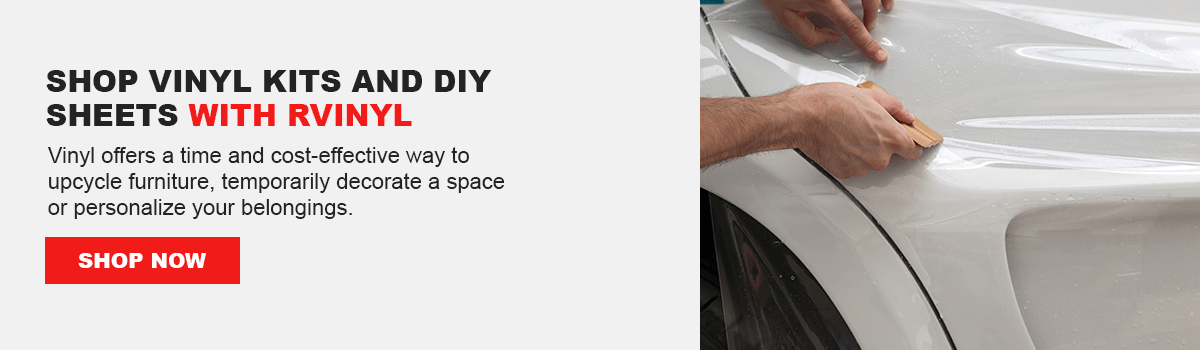 Shop Vinyl Kits and DIY Sheets With Rvinyl