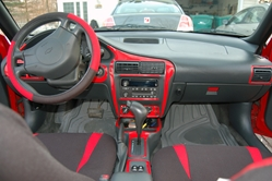 I Went With The Red Trim Set As My Cavalier Is And Its A Great Match Installation Was Easy L Stick Sort Of Stuff