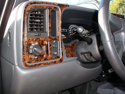 Chevrolet custom dash kits diy dash trim kit dash kit for my 2003 chevy silverado and rvinyl as able to design it so spec in about two weeks very happy with the wood grain pattern and the quality sciox Choice Image