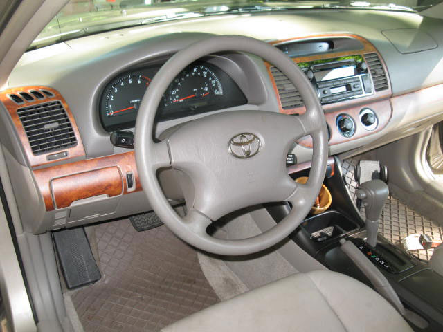 The Interior Of My 2003 Toyota Camry LE Looks So Much Better Now ... From  Plain Jane Interior To Simulated Elegance. Make: Toyota Model: Camry LE  Year: 2003